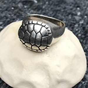 Mignon Faget Tortoise Ring in Sterling Silver